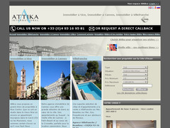 Détails : Attika International - Immobilier Nice et Cannes